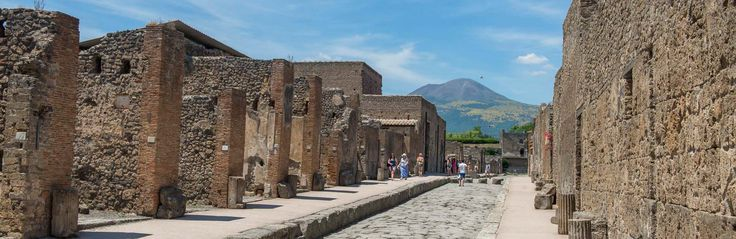 Naples, Italy Mount Vesuvius and Pompeii