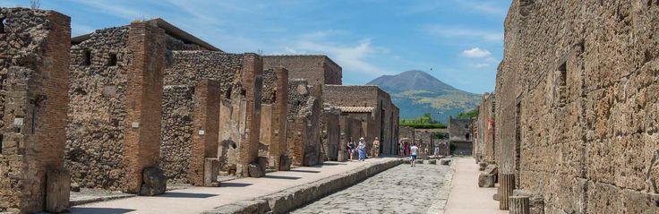 Naples, Italy Mount Vesuvius and Pompeii