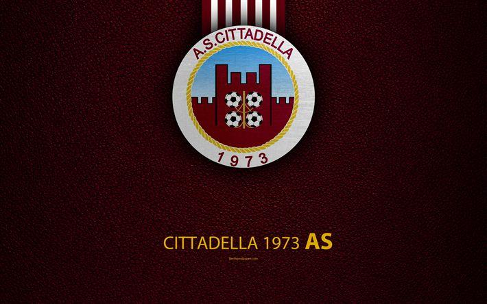 壁紙をダウンロードする として世界中で絶賛の声が挙, 1973, 4k, イタリアのサッカークラブ, ロゴ, の城塞, イタリア, エクストリーム-ゾーンB, ブルゴーニュの革の質感, サッカー, イタリアのサッカー選手権大会