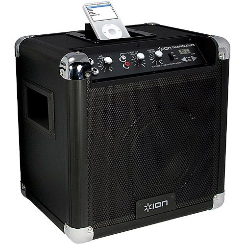 ion audio tailgater wireless bluetooth portable pa system. Black Bedroom Furniture Sets. Home Design Ideas