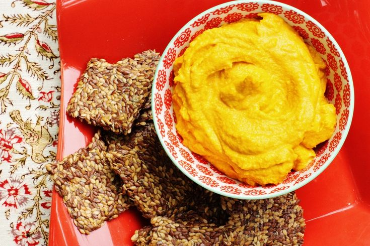 Vegan Carrot Mousse: Easy Appetizer! from @choosingraw
