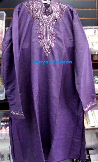 Purple Men Kurta great for Party wear