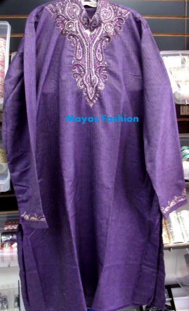 Purple Men Kurta great for Party wear