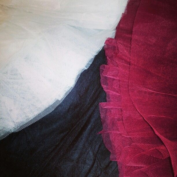 A sea of crinoline! We have replenished our stock and added gorgeous red crinoline! Available in sizes 12-28 for $45.00.
