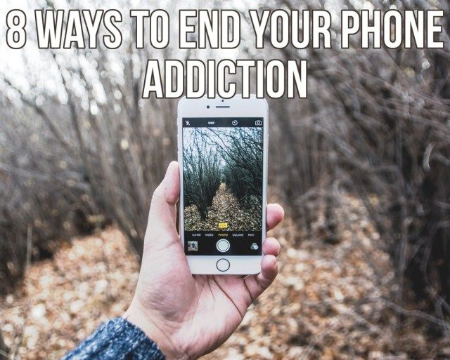 8 Ways To Use Your Phone Less - ew & pt