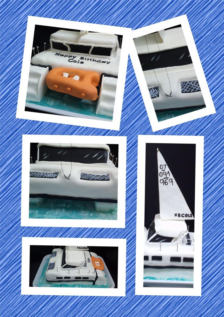 Catamaran Cake