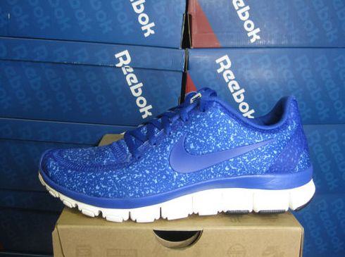 Nike Free 5.0 V4 Ink Blue Gray White