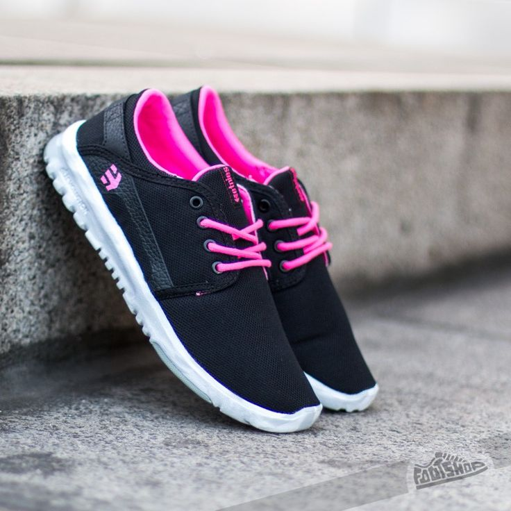 etnies Women's Scout Black/Pink/White