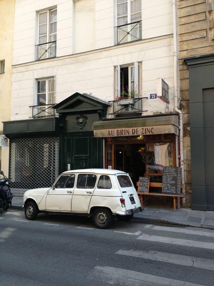 Renault r4 vintage car paris automotive pinterest for Garage renault paris 9