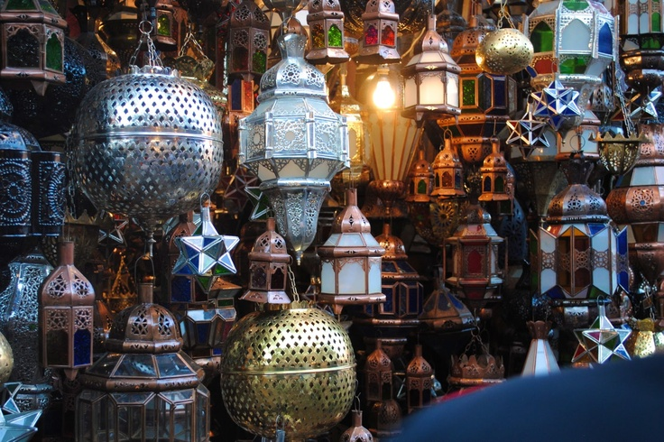 morrocan love the  lanterns