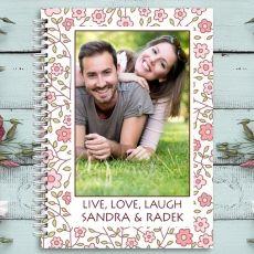 Pamiętnik personalizowany ROMANTYCZNY idealny na urodziny