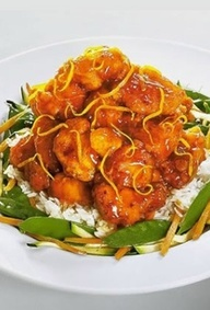 The Cheesecake Factory - Orange Chicken  When visiting Tulsa I tried some Orange Chicken for the first time. So incredibly delicious. #AdventureLife