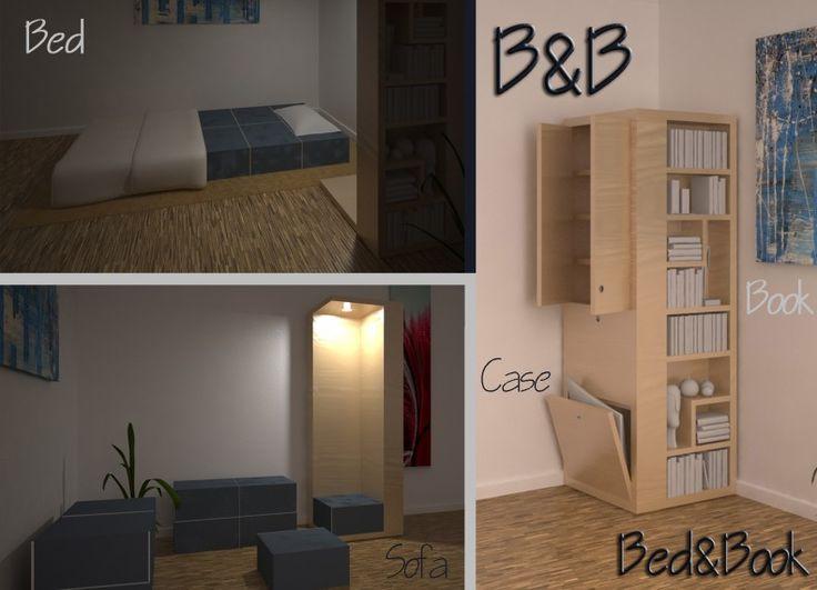 ... per ottenere un letto per gli ospiti o delle comode sedute per