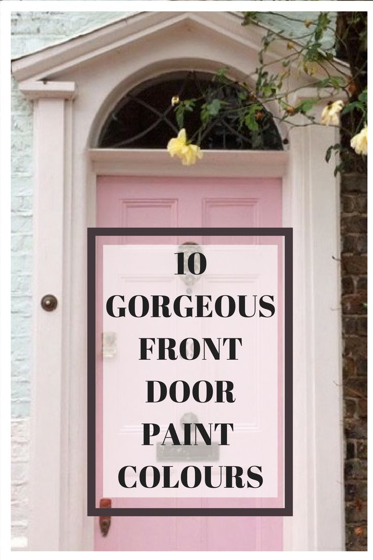 Are you thinking about freshening up your front door but are stuck for paint colour ideas? Check out these gorgeous fresh light and impressive front door looks which are sure to give your front door the facelift it needs.