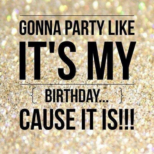 birthday wish for me