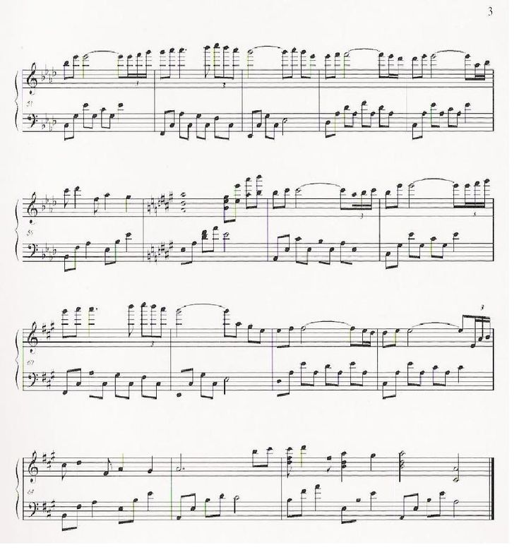 Yiruma - Kiss The Rain Page 3
