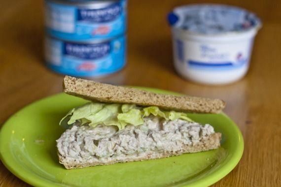 Thunfischsalat Sandwich