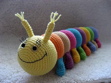 crochet Caterpillar Bety