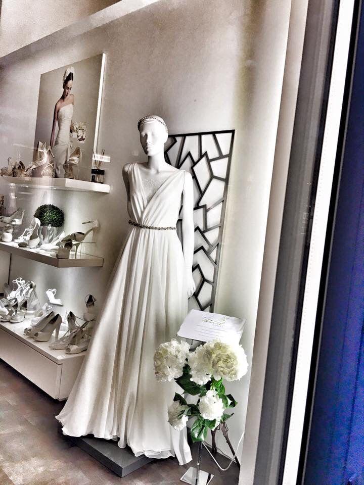 Tulle Sposa Torino vetrine di primavera