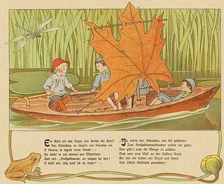 """""""Elsa Beskow (1874-1953) is one of the most well known of Swedish children's book illustrators."""""""