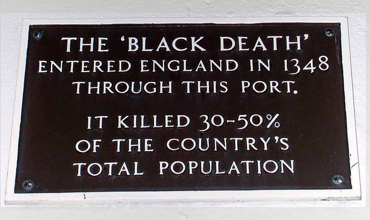 black death in england | ... the arrival of the 'Black Death' [plague] in England in 1348