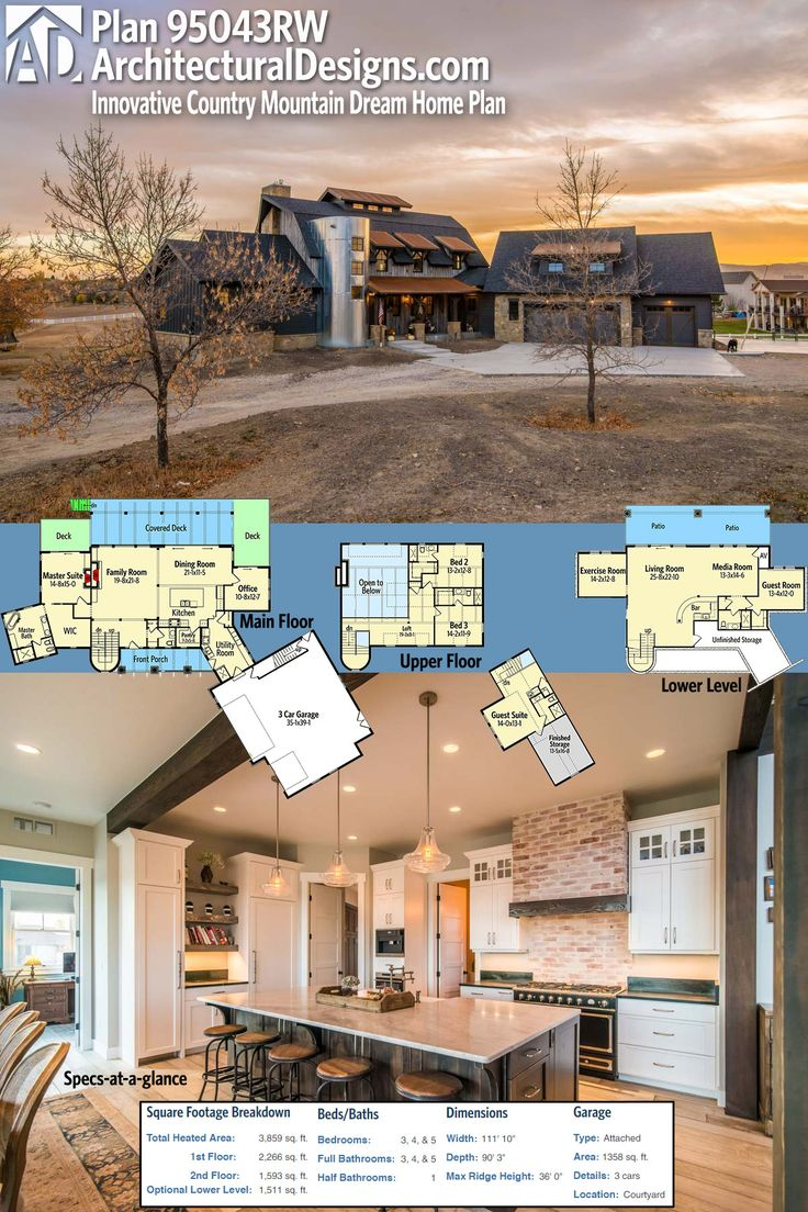 296 best Rugged and Rustic House Plans images on Pinterest