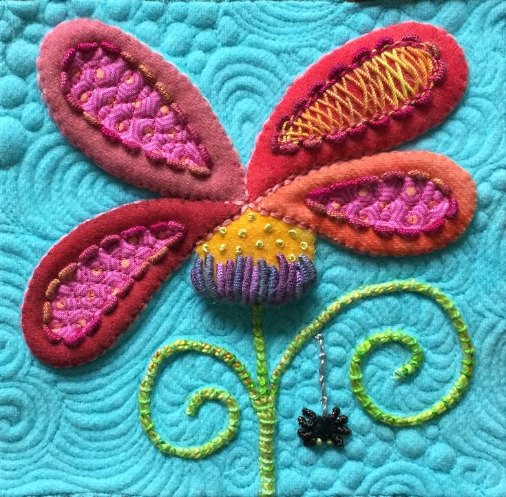 Wool applique and more