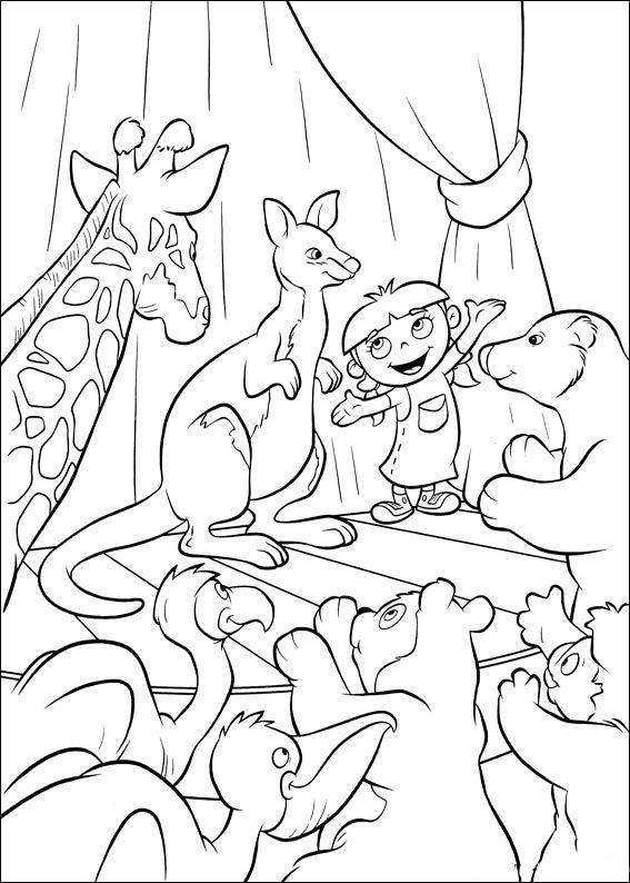 Dibujos para Colorear Mini Einsteins 56