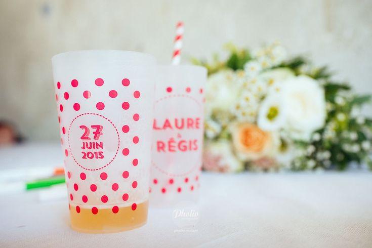 Ecocup Mariage Laure&Regis, Les Colorieuses Wedding Planner, Belesta, France, Pholio Photographie