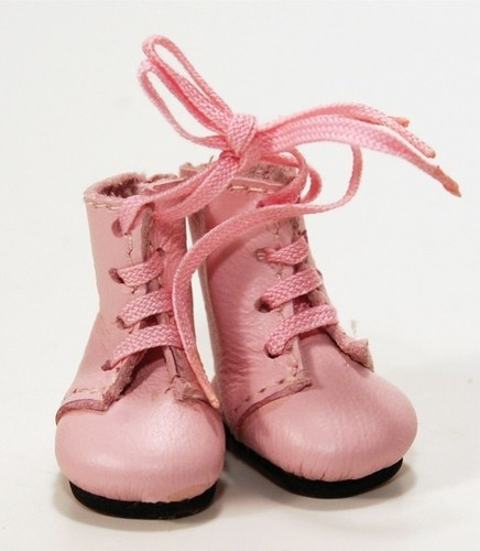 Boneka pink doll boots Size 30 mm / 1.18 inch
