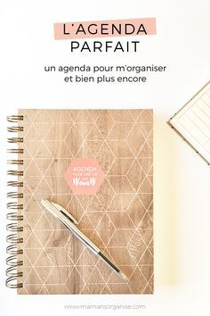 Un agenda parfait pour m'organiser et bien plus encore