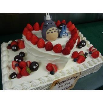 「思い出のトトロでオリジナルケーキを!!」演出・余興   アートグレイス ウエディングヒルズ【ウエディングパーク】