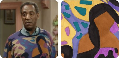 The Picasso! Fashionable AND artistic. @TVLand Channel #cosbysweaterchallenge
