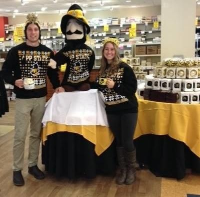 Ugly Christmas Sweater - available at the App State Bookstore
