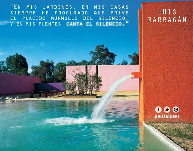 Luis Barragán (1902 - 1988), único #arquitecto mexicano en obtener el Premio Pritzker.