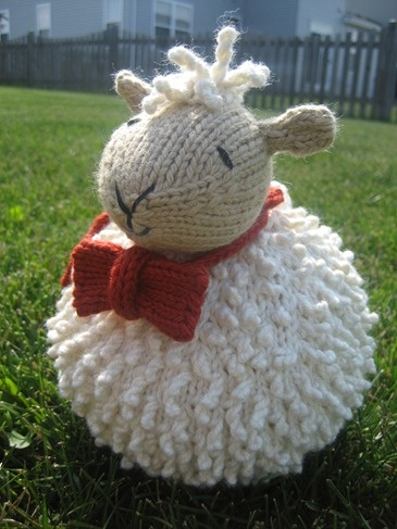Spud of Spud and Chloe at The Farm by @Susan B. Anderson .  He was so fun to knit up!  I need to make another for myself as he was a test knit for the company.  Knit in @SpudandChloe Yarn