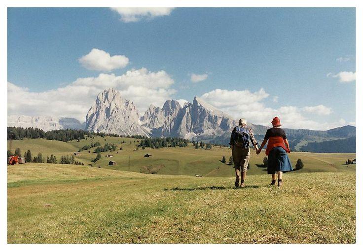 Luigi Ghirri, Alpe di Suisi, 1979, C-print, 7 7/8 x 11 3/4 inches; 20 x 30 cm