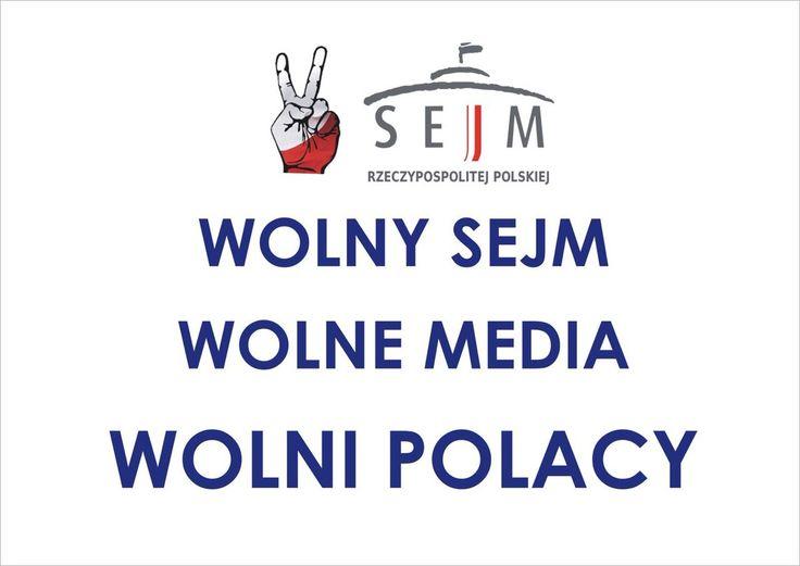 tag #WolniPolacy na Twitterze