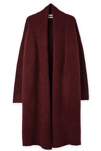 Luxurious Italian Mohair Blend Cardigan