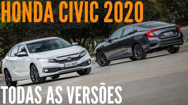 Todas as novidades do HONDA CIVIC 2020 LX, SPORT, EX, EXL