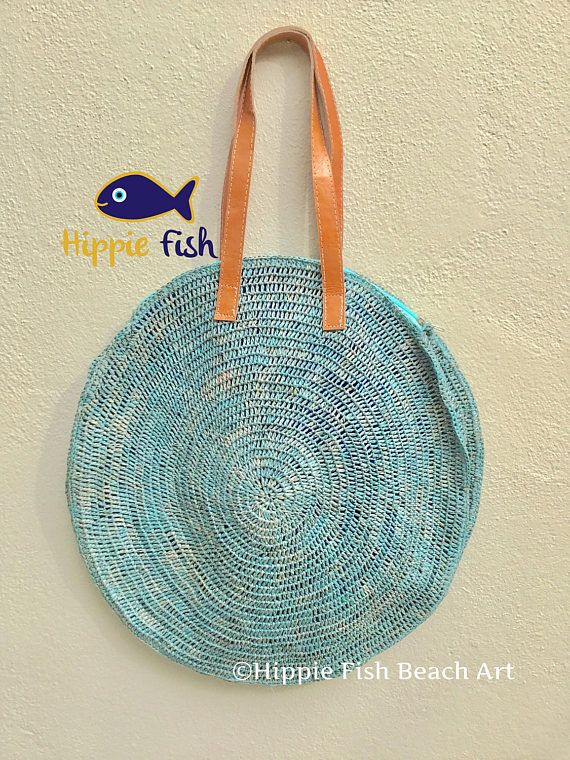Round Straw bag market bag Straw Beach bag raffia bag