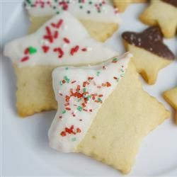 "Galletas ""shortbread"" @ http://allrecipes.com.mx"