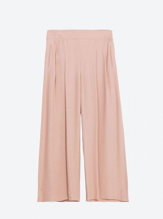 Zara Flowing Culottes, £24.99