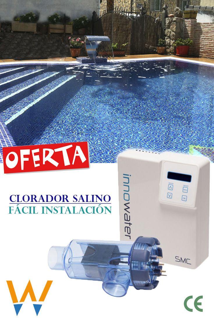 Clorador Salino Innowater Smc50 50 Gr H 1 417 50 10 De