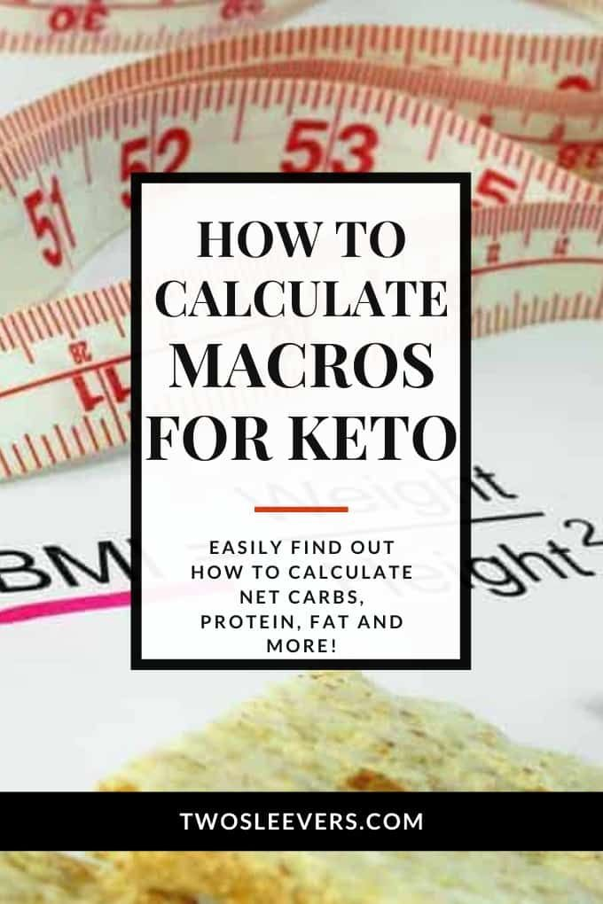 How To Calculate Your Macros For A Keto Diet Keto Macros Calculator Keto Best Macro Calculator