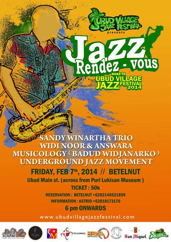 Jazz Rendez Vous road to Ubud Village Jazz Festival 2014