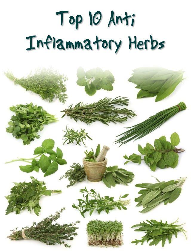 Top 10 Anti Inflammatory Herbs - If you're in search for the best anti inflammatory herbs, you'll find this article useful. There are numerous herbs that have been proven to aid in various health problems such as inflammation, infection, blood clotting and more.