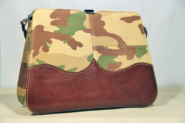 Vintage bag - desert camouflage Zyz eco design