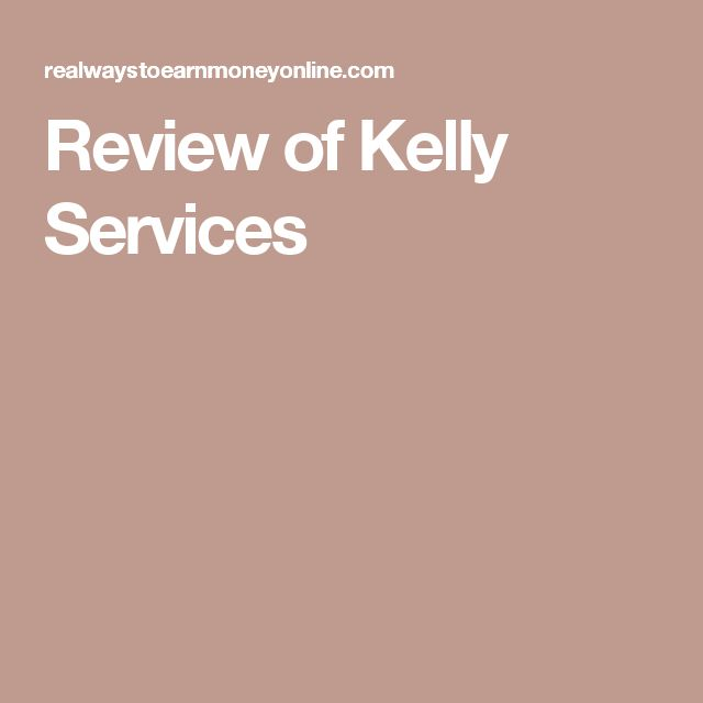 Review of Kelly Services