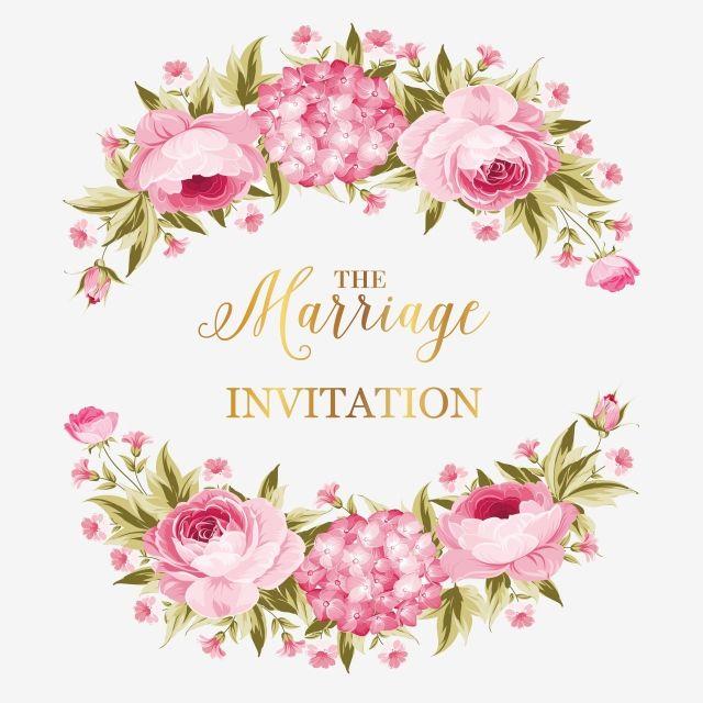 Milhoes De Imagens Png Fundos E Vetores Para Download Gratuito Pngtree Watercolor Flower Wreath Flower Wedding Invitation Vector Flowers